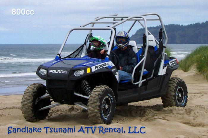sandlake tsunami atv rental 800cc polaris rzr 4 seat mini buggy. Black Bedroom Furniture Sets. Home Design Ideas
